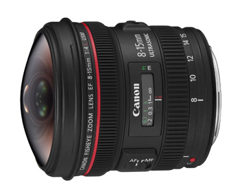 Product Review: Canon EF 8-15mm f/4L Fisheye USM Lens | PDN