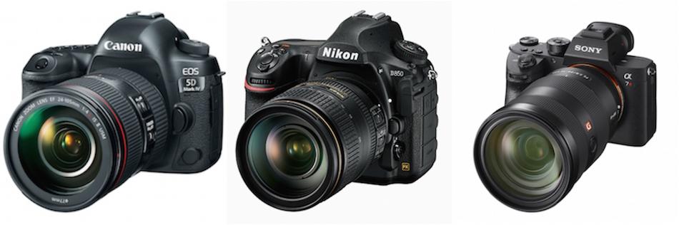 Sony A7R III Vs Canon 5D Mark IV Nikon D850