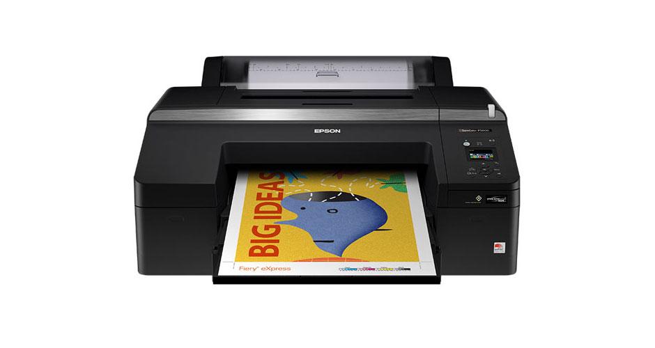 Printer Review: Epson SureColor P5000 Large-Format Desktop