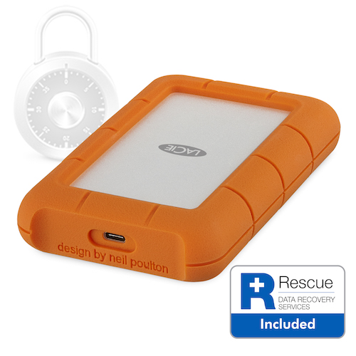Seagate Debuts Fast Ssd Lacie Rugged Drive At Ces 2018