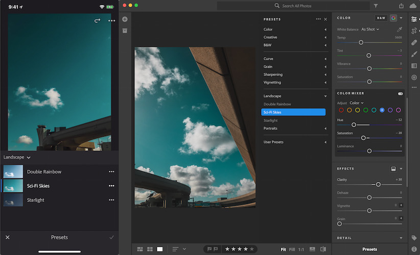 Adobe Gets In Sync with New Lightroom Update