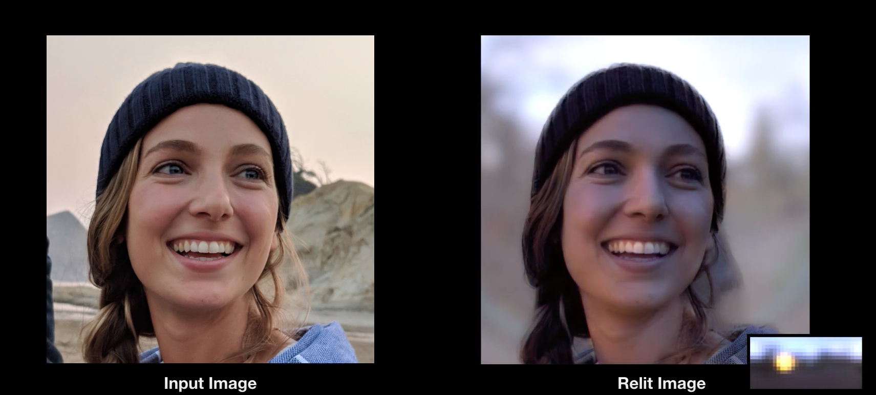 Google Is Developing a Method to Simulate Lighting in a Photo
