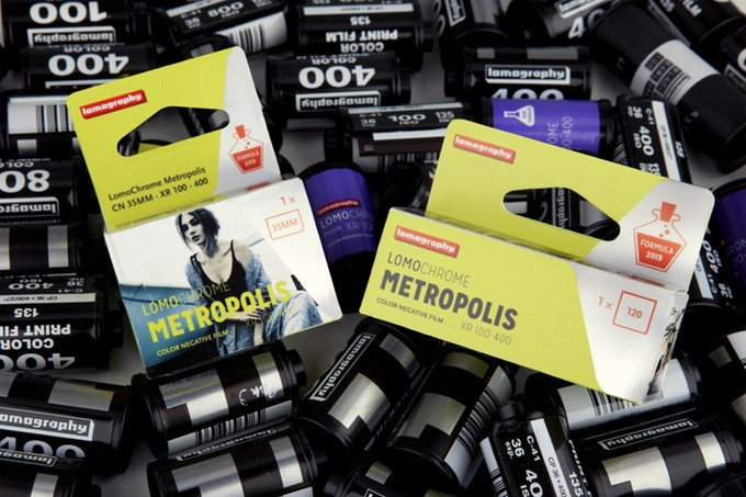 Lomography Announces First Color Negative Film In Years