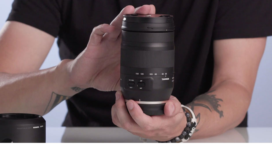 Unboxing Tamron's SP 35mm f/1.4 Di USD
